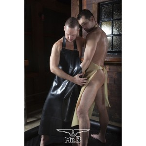 Rubber Butchers Apron (Clear only)