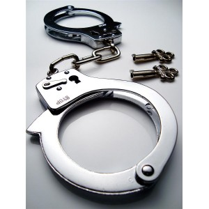 Handcuffs - Basic Light weight chrome / black