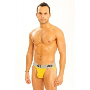 "2"" BIKE JOCK YELLOW"